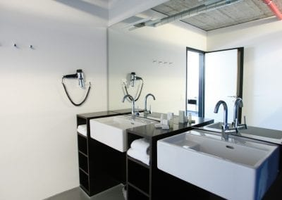 CUBE Savognin bathroom suite
