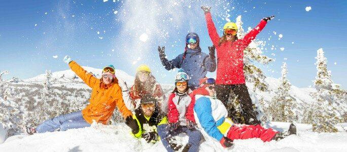 image winter fun mountain