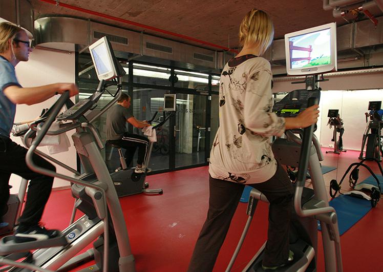 CUBE Savognin Fitness Area