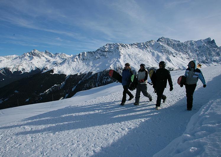 Snowoardergruppe