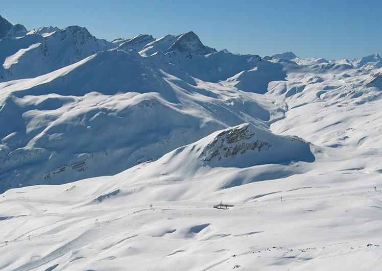 Winterlandschaft Savognin